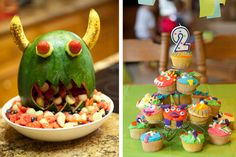 monster birthday party ideas | Calling All Little Monsters…{A Monster-Themed Birthday Party ...