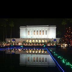 Mesa temple lights!!