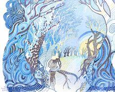 image(blue) Weather Forecast, Printmaking, Illustrators, Aoyama, Illustration Art, Mooncake, Japanese, Film Posters, Night