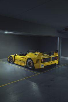 #Ferrari F40 Spyder #italiandesign