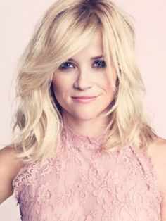 Wavy Hair 101... Reese Witherspoon with short to medium waves