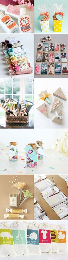 29 Personalized Creative Wedding Favors: