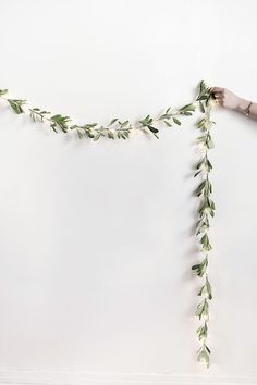 #DIY fairy light garland