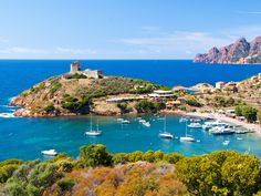 Information and maps about the department of the Haute Corse in Corsica, France Sailing Holidays, Stock Image, Visit France, Air France, France Travel, Beautiful Islands, Beautiful Beaches, Vacation Spots, Travel Guide