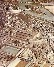 Champ de Mars à Rome - vers 300 après JC