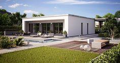 Bungalow Finess 105 mit Flachdach - Büdenbender Hausbau
