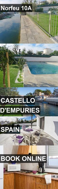 Hotel Norfeu 10A in Castello d'Empuries, Spain. For more information, photos, reviews and best prices please follow the link. #Spain #Castellod'Empuries #travel #vacation #hotel