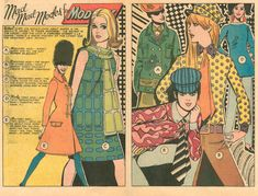 """Sequential Crush - """"Mad Mad Modes for Moderns"""" Heart Throbs (April/May Illustrated by Tony Abruzzo Comic Book Pages, Comic Book Artists, Comic Books Art, Vintage Comic Books, Vintage Comics, Millie The Model, Romance Comics, Vintage Classics, Female Art"""