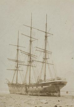 On March 18, 1896 the Glenmorag, en route to Astoria, Oregon, from Chile, got caught in heavy fog and lost its course. The ship ran aground on the Long Beach Peninsula north of Ocean Park, Washington. Captain Archibald Currie, who was unaware of the ship's position, was afraid that they were in danger of running into a rocky coast and thus demanded all hands abandon ship.   Ocean Park, Washington