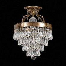 Draping Crystals Large Chandelier