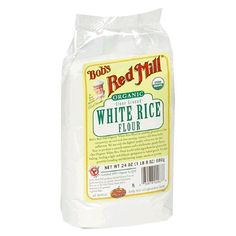 Bob's Red Mill White Rice Flour, Organic, 24-Ounce « Lolly Mahoney