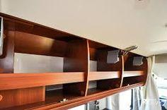 Image result for rv overhead locker storage
