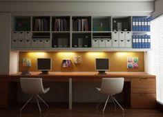 Diseños de Oficinas para Dos Personas