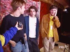 "damianalbarn: "" Photo shoot, 1991 x thanks ; Gladiator 2000, Blur Band, Graham Coxon, You Really Got Me, Buckingham Nicks, Damon Albarn, Jamie Hewlett, Hot Band, Pulp"