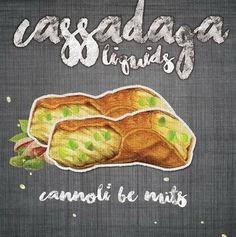 Cannoli Be Nuts - Cassadaga E Liquid #eliquidwholesale