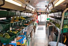 Mobile Produce Market: Troubled by the lack of fresh produce available in his corner of Chicago, Steve Casey dreamed up a fruit and veggie market—on wheels.