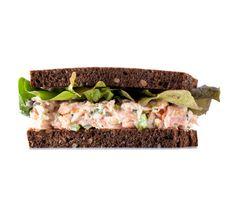 Smoked Salmon Sandwich on Pinterest
