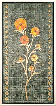 lovely mosaic panel by Minna Floman