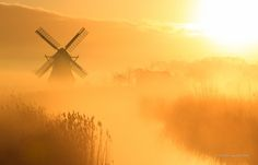 Windmill calling me by Sander van der Werf on 500px