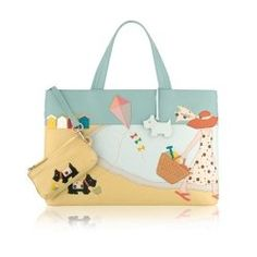 Radley Picture bag on beach