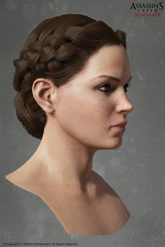ArtStation - assassin's creed syndicate Evie frye Head , Alexis Belley