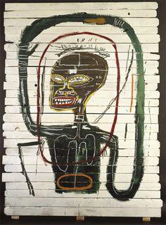 basquiat | Jean-Michel Basquiat 『 Flexible 1984 』(Acrylic and oil ...