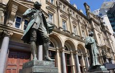 I had a nice #photo walk around #Leeds #city centre today in the fantastic #sunshine. Here is another image from #CitySquare featuring the #statues of #JamesWatt and #JohnHarrison. #IgersLeeds #IgersYorkshire #Leeds2023 #LeedsPhoto #loveleeds #Yorkshire #LeedsBID #IgersEngland #England #travel #tourism #tourist #leisure #life #art #culture #history #education