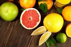 Cortisol-Reduction Grocery List/ Citrus Fruits- When stress gets you down, try replacing carb-rich snacks with a variety of citrus fruit. Research has shown that vitamin C-rich produce, like oranges and kiwis, help slow the production of cortisol.