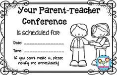 Parent Teacher Conferences: 10 Tips and Tricks – Create-abilities Classroom Jobs, Kindergarten Classroom, Kindergarten Activities, Classroom Management, Behavior Management, Parent Teacher Interviews, Parent Teacher Conferences, School Forms, School Fun