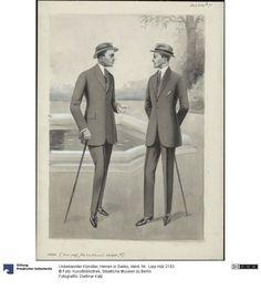 Herren in Sakko, 1920