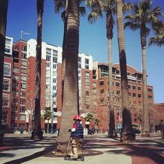 Willie Mays Plaza #sanfrancisco