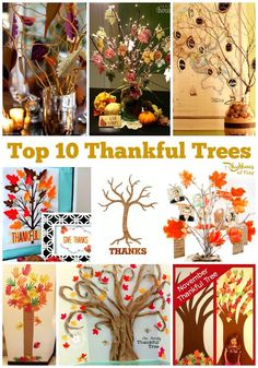 There are many ways to design and use a thankful tree. The one thing that they all have in common is cultivating an attitude of gratitude in the home. Creating and using one is an activity the whole family will enjoy.