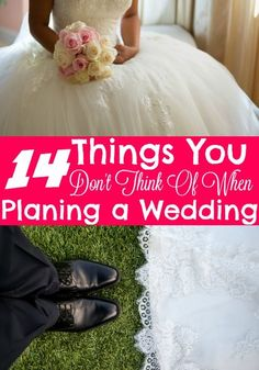 14 Things You Probably Have Not Thought of When Planning Your Wedding. - The Frugal Navy Wife