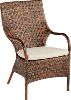 Affordable dining arm chairs for sale from Rooms To Go. Complement a variety of decor styles with wooden, black or white finishes, contemporary styled arm chairs for the dining room. Cane Sofa, Cindy Crawford Home, Outdoor Chairs, Outdoor Furniture, Modern Dining Table, Dining Table Chairs, Armchair, Mailbox, Ocean