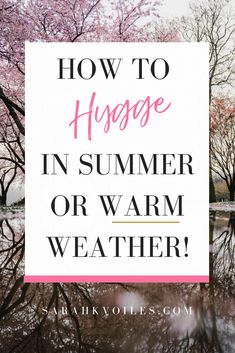 Hey there! Did you know you can still practice the cozy Danish art of Hygge in the Summer and warm weather! Click through for a list of 20 of my favorite ways to hygge! Summer Hygge, Hygge Life, Hygge House, What Is Hygge, Danish Words, Stainless Steel Coffee Table, Slow Living, Clean Living, Simple Living