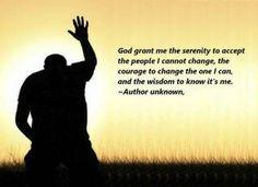Serenity Prayer (edited)