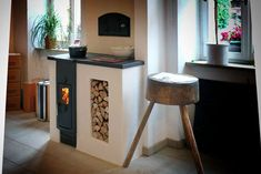 Newest Photographs puuhella Wood Stove Ideas Whilst timber is regarded as the eco-friendly home heating method, the item in no way looks like it's discusse. Tiny Wood Stove, Interior And Exterior, Interior Design, Cooking Stove, Stove Fireplace, Tiny House Living, Building A House, Sweet Home, House Design
