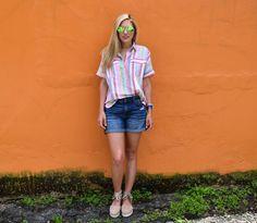 Candy Stripes - Summer Style - Espadrilles #jcrew