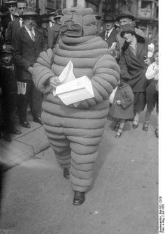The original 1931 Michelin Man in Berlin, Germany