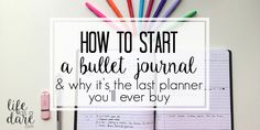Looking to start a bullet journal? Here is a simple, step-by-step guide on how to bullet journal without making it more confusing than it has to be.