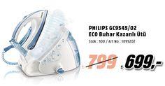 Hemen tıkla, Mediamarkt.com.tr'de sana özel PHILIPS GC9545/02 ECO Buhar Kazanlı Ütü alışverişinde anında 100TL fırsatını kaçırma!