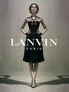 Lily Donaldson by Steven Meisel for Lanvin