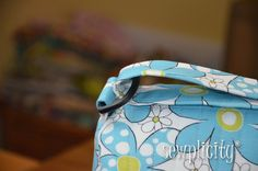 The Sewplicity Quilted Duffle Bag - Sewplicity