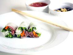 Vietnamesiske forårsruller med oksekød | foodfanatics opskrifter