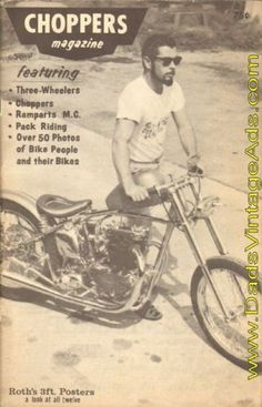 1967 Ed ''Big Daddy'' Roth Choppers Motorcycle Magazine Issue No. 1 - RARE!