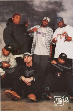 Eminem D12 Rap Group Poster 22x34