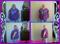 Donnia   Woohoo!!! I completed my first 90 day challenge!!! Down 31 pounds & 43 inches!!! Cant wait to see what my next 90 days brings!!!   I have struggled with my weight on & off my whole life & I have tried just about everything on the market to help lose it because just changing my food intake & exercise didn't help enough since my metabolism is SO slow. Well, I finally found something that works for me & I dont feel starved. Having a very slow metabolism & working from home the last 5…
