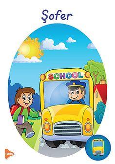 Ilustrații cu meserii și ocupații Preschool Education, Preschool At Home, Teaching Weather, Experiment, Cartoon Characters, Fictional Characters, Teaching Materials, Tweety, Kindergarten