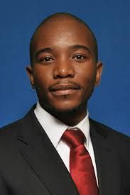 Mmusi Maimane (leader of South Africa's opposition Democratic Alliance (DA) political party)