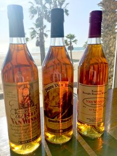 Ultra rare and considered one of the world's finest bourbons, we're pouring Pappy Van Winkle while it lasts! - Terrazza Lounge at Hotel Casa del Mar - Santa Monica, California.